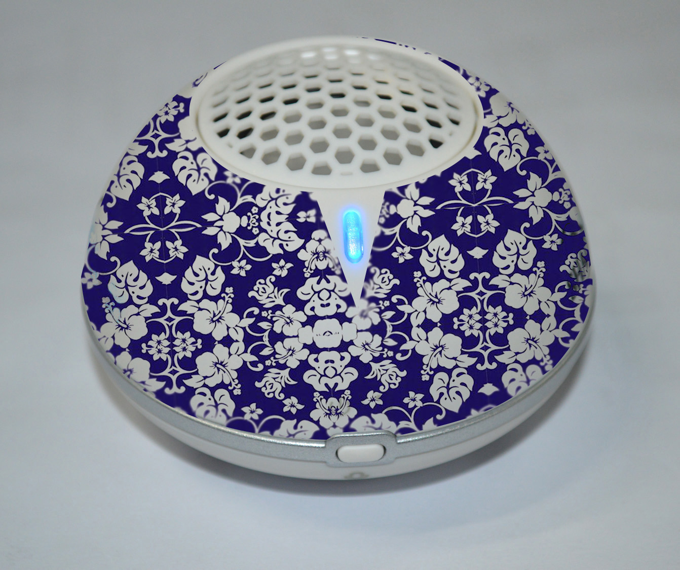 hawaiin-print-speaker-blue