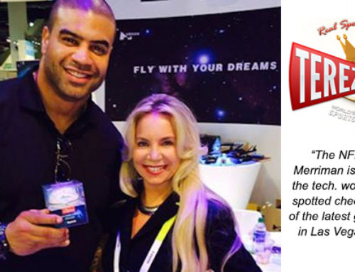 NFL's Shawne Merriman With ShadyFace Wireless Bluetooth Speaker