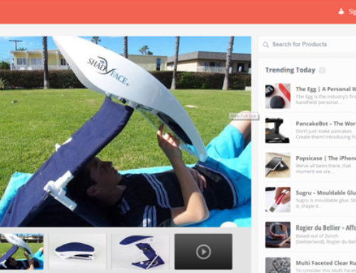 ShadyFace Featured on GadgtFlow Best Products of the Web