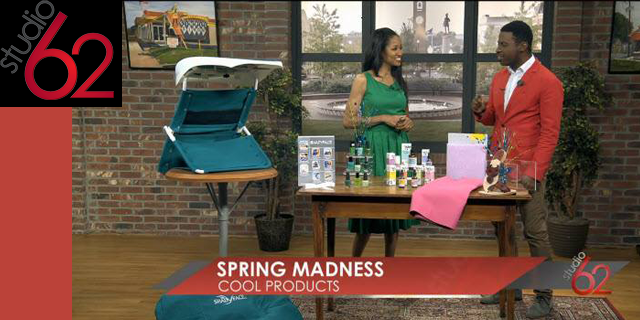 "ShadyFace Featured on CBS Network ""Your Carolina"" Spring Madness Products"