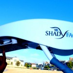 ShadyFace Electronic Viewing Travel Canopy Sunshade 20