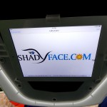 ShadyFace Electronic Viewing Travel Canopy Sunshade 24
