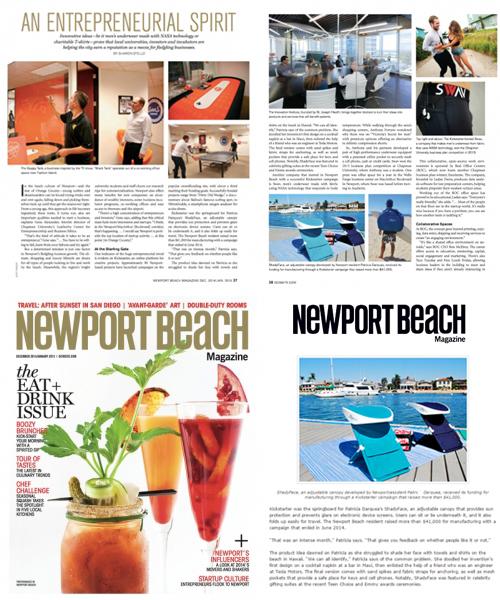 ShadyFace at Newport Beach Magazine