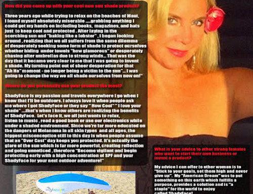 ShadyFace at Spotlight Magazine