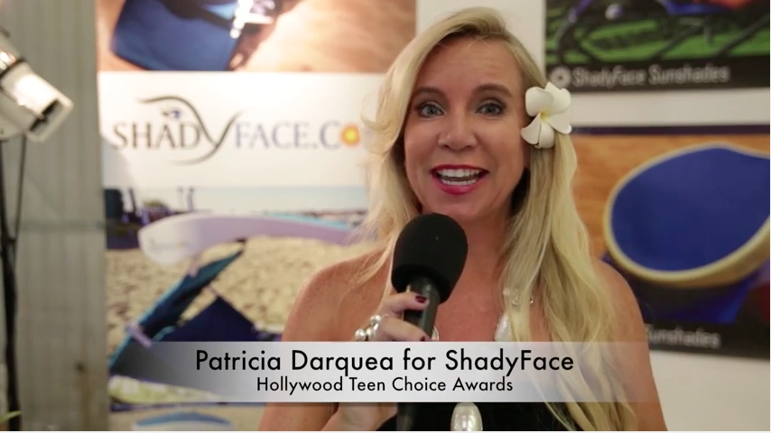 Hollywood Celebrity Teen Choice Awards  & ShadyFace Sunshades and Bluetooth Speaker Technology