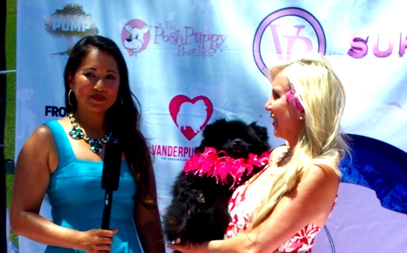 Celebrating World Dog Day with Lisa Vanderpump & Patricia