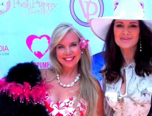 Celebrating World Dog Day with Lisa Vanderpump & Patricia Darquea, CEO,Inventor, & Manufacturer of ShadyPaws Portable Pet Canopy Sunshades